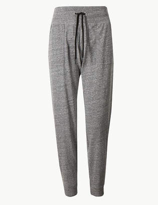 Marks and Spencer Cotton Blend Lightweight Joggers