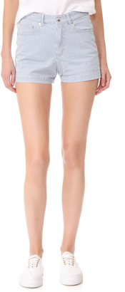 A.P.C. High Standard Shorts $165 thestylecure.com