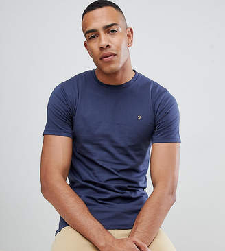 Farah Farris slim fit t-shirt with stretch in navy