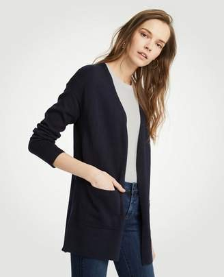 Ann Taylor Pocket Open Cardigan