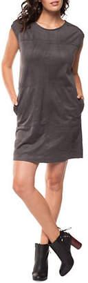 Dex Faux Suede Shift Dress