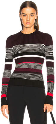 Proenza Schouler Space Dye Knit Sweater