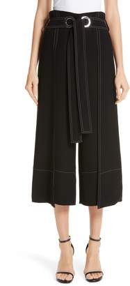 Yigal Azrouel Tie Wrap Front Pants