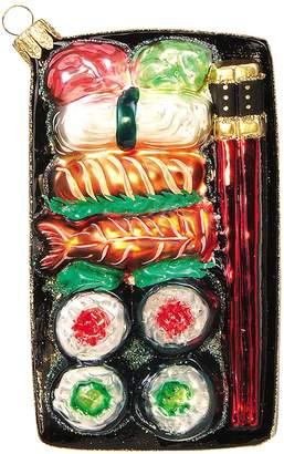 Nordstrom 'Sushi Plate' Handblown Glass Ornament