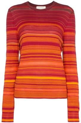 Wales Bonner striped long sleeved T-shirt
