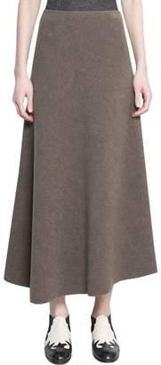 Dusan Wool And Viscose Skirt