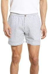 Vintage 1946 Snappers Seersucker Shorts