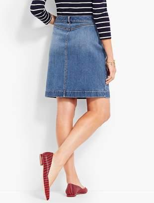 Talbots Denim Pencil Skirt - True Blue Wash