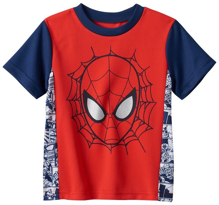 Toddler Boy Marvel Spiderman Tee
