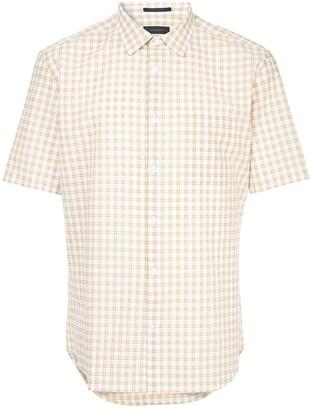 Durban D'urban short sleeved gingham shirt