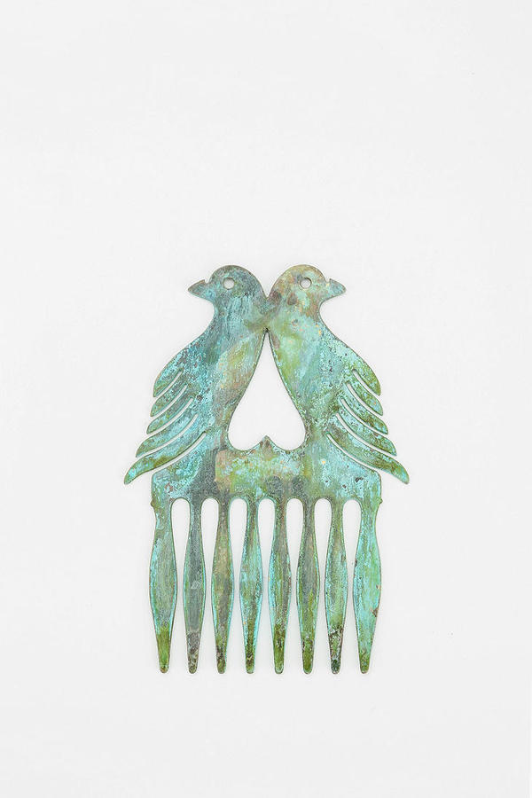 Urban Outfitters Diament Jewelry For Urban Renewal Bird Heart Hair Comb