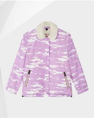 Hunter Womens Original Shell Jacket With Fleece Liner