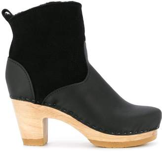 No.6 mid-heel ankle boots