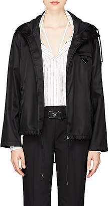 Prada Women's Tech-Twill Windbreaker - Black