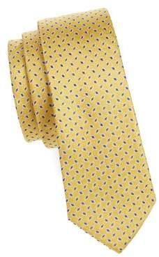 Lauren Ralph Lauren Boy's Geometric Slim Silk Tie