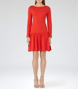 Reiss Agnes Drop-Waist Jersey Dress