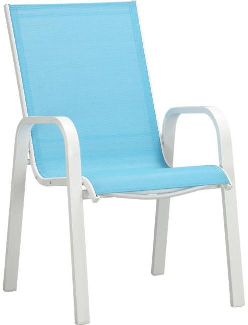 Aqua Mesh Stack Chair