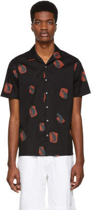 Paul Smith Black and Red Fox Casual Shirt