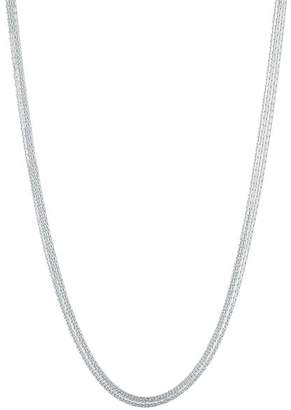 Links of London Sterling Silver Essential Silk 5-Row Necklace, 31.5""