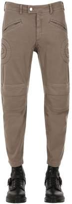 Neil Barrett Cropped Low Rise Biker Pants