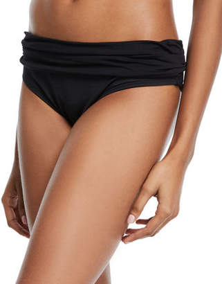 La Blanca Deluxe Island Goddess Reversible Hipster Swim Bottom $57 thestylecure.com