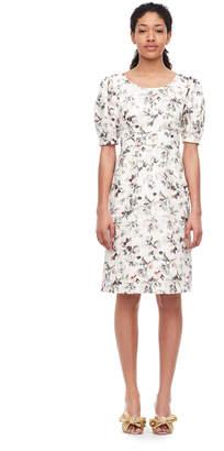 Rebecca Taylor Sofia Fleur Linen Dress