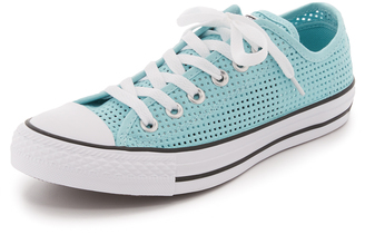 Converse Chuck Taylor All Star Perforated Sneakers $60 thestylecure.com