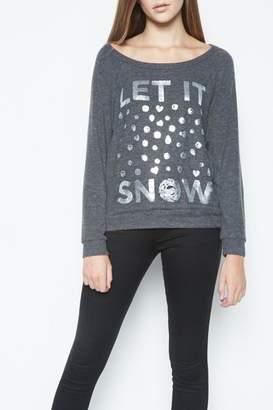 Lauren Moshi Let It Snow Sweatshirt $136 thestylecure.com