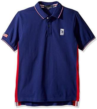 U.S. Polo Assn. Men's Solid Short Sleeve Classic Fit Pique Polo Shirt