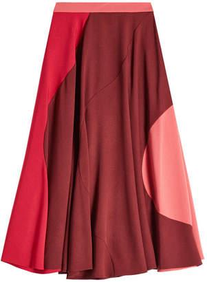 Roksanda Color Block Skirt