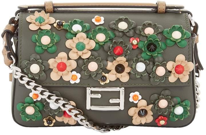Fendi Micro Double Baguette Appliqué Bag