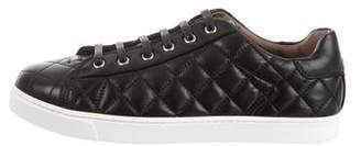 Gianvito Rossi 2017 Low Driver Quilted Sneakers w/ Tags
