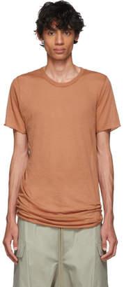 Rick Owens Red Basic T-Shirt