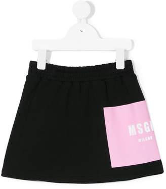 MSGM elasticated waist skirt