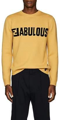 """Fendi Men's """"Fabulous"""" Virgin Wool Sweater"""