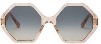 Chloé Willow Sunglasses - Womens - Blue