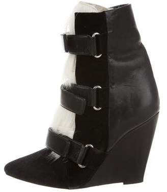 Isabel Marant Ponyhair Ankle Boots