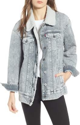 Levi's Oversize Denim Trucker Jacket