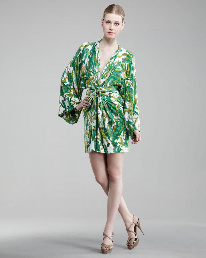 Issa London Printed Full-Sleeve Dress