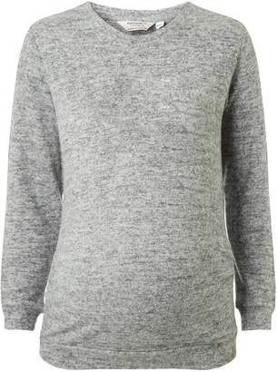 Dorothy Perkins Womens **Maternity Grey Plain Sweat Top