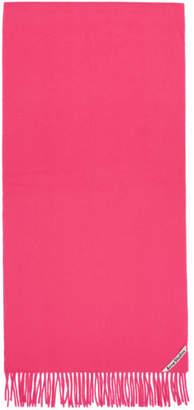 Acne Studios Pink Canada NR New Scarf