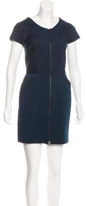 Amanda Wakeley Zip-Up Mini Dress