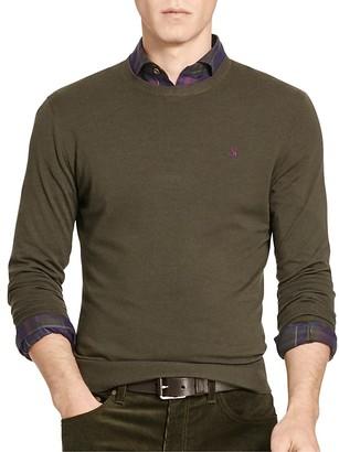 Polo Ralph Lauren Merino Wool Crewneck Sweater $165 thestylecure.com
