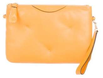 Anya Hindmarch Leather Chubby Pouch