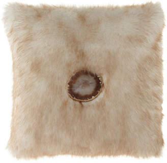 Parker 6009 Iliana Camel Faux-Fur Pillow