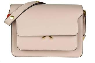 Marni Bag Media Trunk Bag In Leather Color Cipria