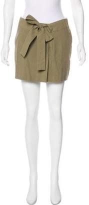 Etoile Isabel Marant Tie-Embellished Mini Skirt