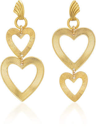 Eliza J Brinker & Honeymoon 24K Gold-Plated Earrings