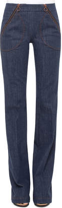Akris Punto Fiona Denim Sailor Pants