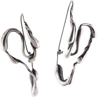 Manifest Design Sprout Hoop Earrings
